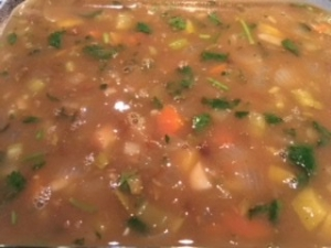 lentil soup with bone broth
