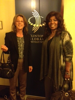 Gloria Gaynor and Elyn CGI